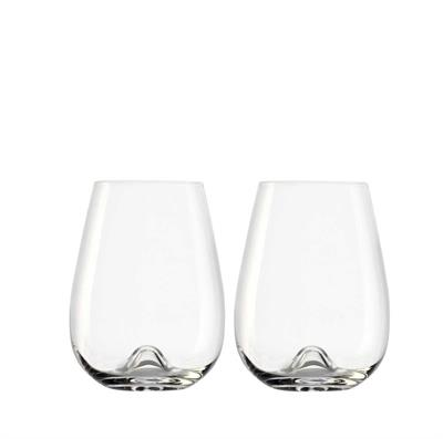 tumblers and stemless glasses