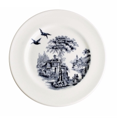 Aynsley Archive Blue Flight Plate 8""