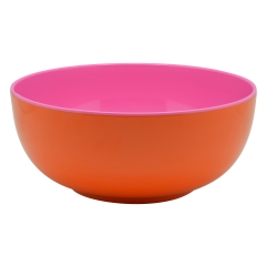 Jab Bowl Hot Pink In & Orange Out- 20cm