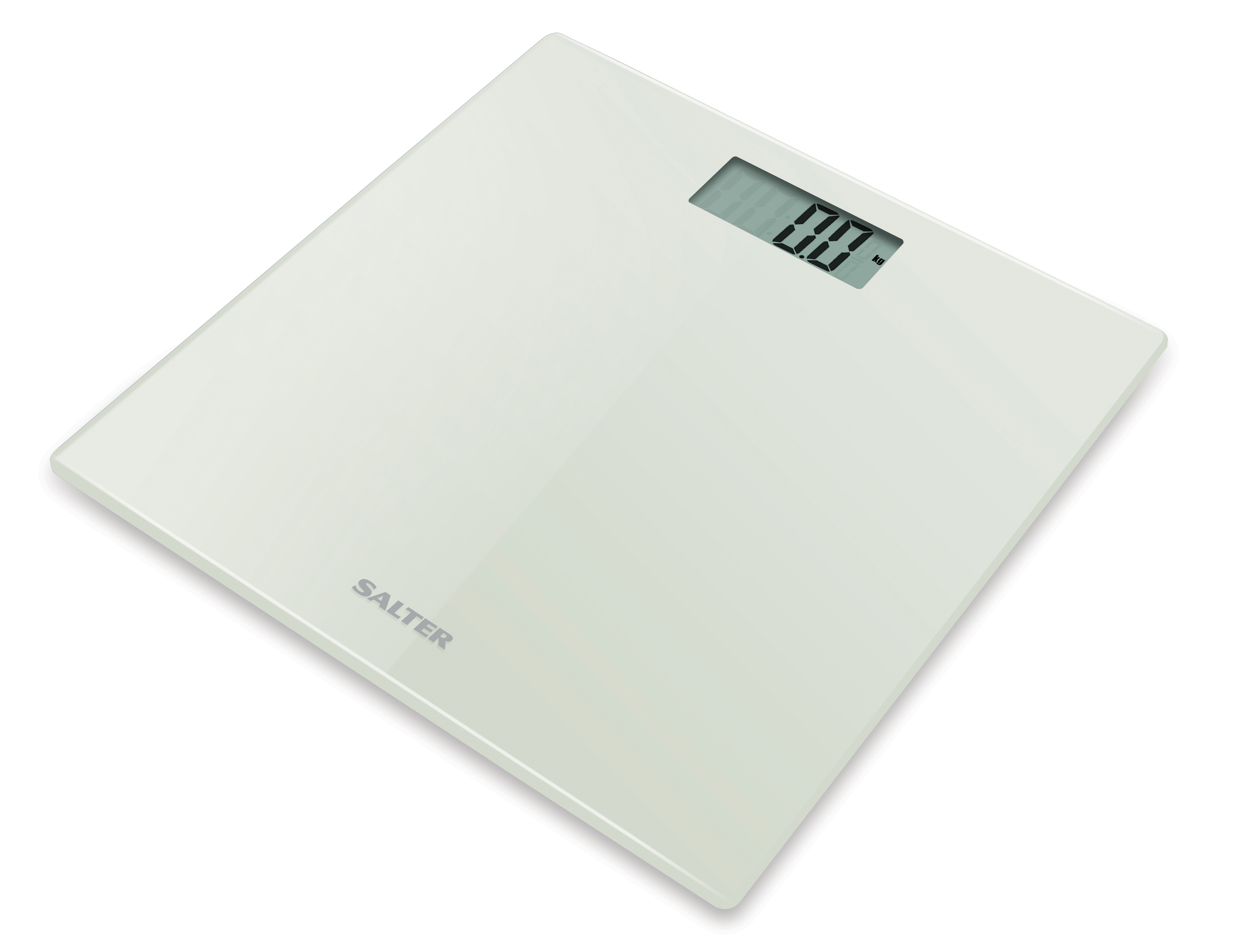 Salter Ultra Slim Glass Electronic Personal Scale 9069wh3r