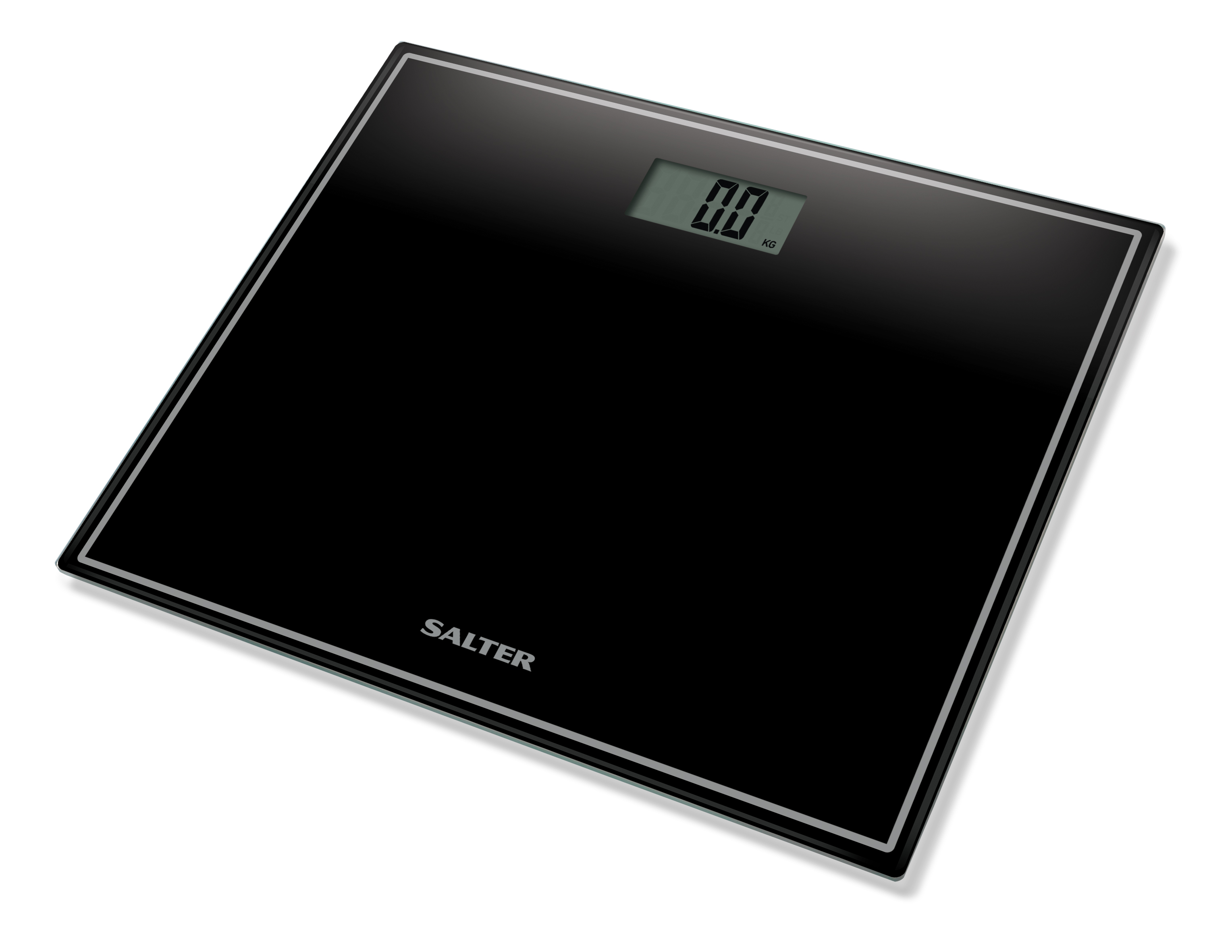 Salter Compact Glass Electronic Personal Scale 9207BK3R