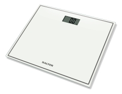 Salter Compact Glass Electronic Personal Scale 9207WH3R